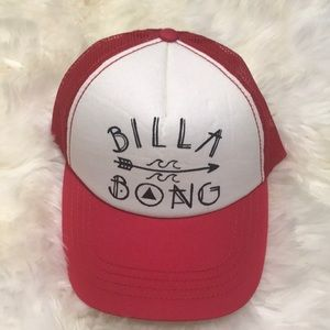 NWOT billabong trucker hat